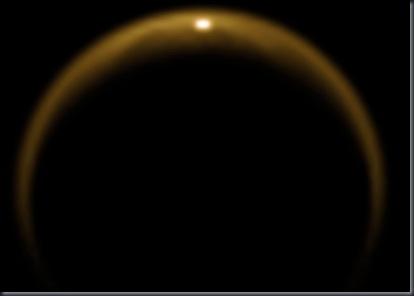 Imagem registrada em 8 de julho de 2009, no 59º sobrevoo da sonda Cassini, a 200 mil quilômetros (Foto: NASA/JPL/University of Arizona/DLR)