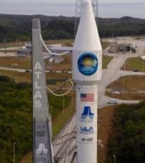Atlas V com SDO (Foto: divulgação)