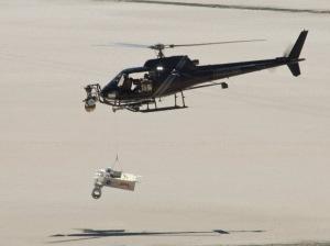 NASA usa helicóptero em deserto para testar pouso em Marte