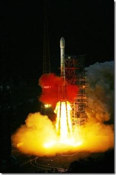 Lançamento da Chag'e-2 (Foto: AFP)
