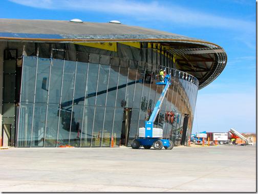 Instalação da Virgin Galactic no Spaceport America está quase pronta (Foto: Spaceport America)