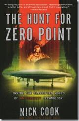 """Capa da versão em inglês do livro """"Caça pelo Ponto Zero"""" (Foto via GreyFalcon.us)"""