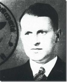 Fotografia de identificação de Kammler na NSDAP (Foto via GreyFalcon.us))