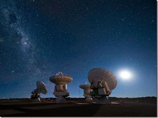 Antenas do ALMA (Foto: José Francisco Salgado/ESO)