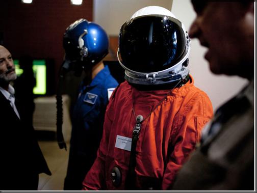 Cerimônia de inauguração da Space IL foi apresentada por presidente Perez (Foto via R7)