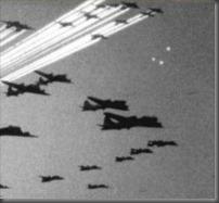 Foo fighters na Itália em 1945