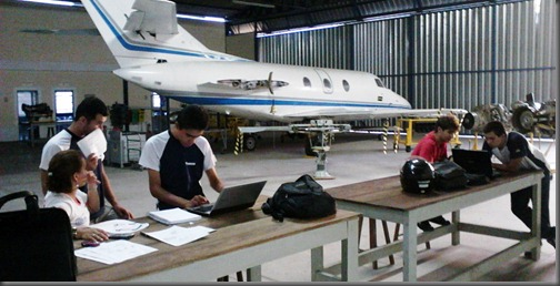 Alunos do Módulo Básico desenvolvem atividades de pesquisa (Foto: Eduardo Oliveira)