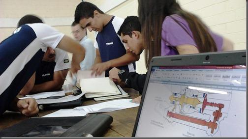 Alunos do Módulo Especializado em atividade (Foto: Eduardo Oliveira)