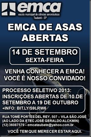 Evento organizado por alunos será no dia 14/09/2012 e começará às 9h (Arte: Eduardo Oliveira)