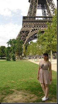Camila em Paris