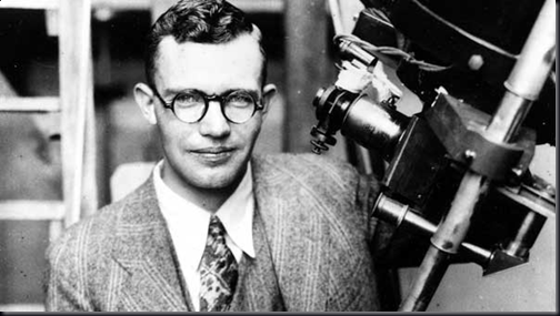 Clyde William Tombaugh (Foto via Hystory Thru Lens)