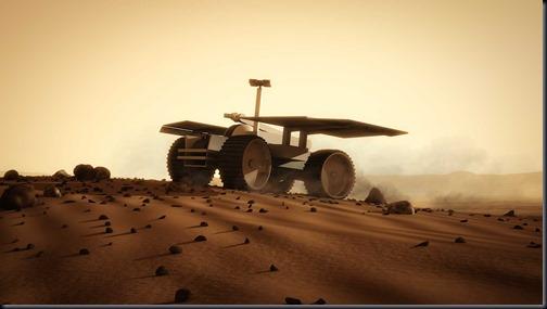 Um jipe robótico da Mars One deve pousar em Marte em 2018 para procurar pelo melhor lugar para a colônia (Foto: Mars One / Bryan Versteeg)