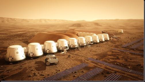 A segunda tripulação deve chegar em 2025 (Foto: Mars One / Bryan Versteeg)