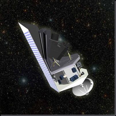 Ilustração do Sentinel (Foto: Ball Aerospace)