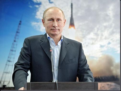 Presidente russo Vladimir Putin anuncia investimentos no programa espacial russo (Foto: AFP Photo/Ria Novosti Pool/Presidential Press Service/Aleksey Nikolskyi)