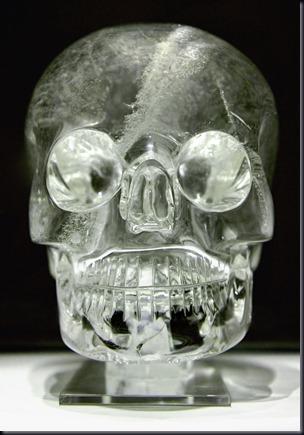 Crânio do British Museum (Foto: Wikimedia)