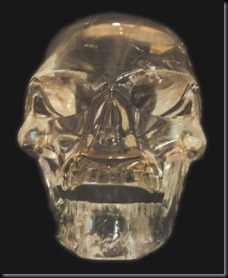 Caveira de cristal (Foto: arquivo UFO)