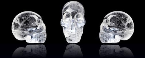 Caveira de cristal (Foto via RedOrbit)