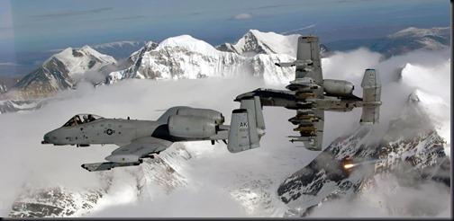 Aviões A-10 Thunerbolt II