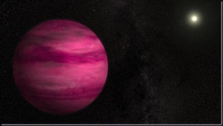 Ilustração de GJ 504b (Foto: Goddard Space Flight Center / S. Wiessinger)