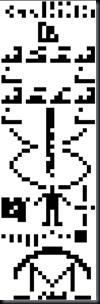 Mensagem binária enviada de Arecibo em 1974