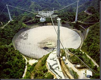 Radiotelescópio de Arecibo (Foto: NAIC)
