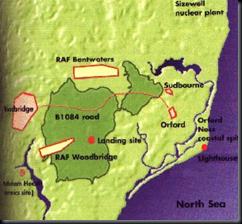 rendlesham map