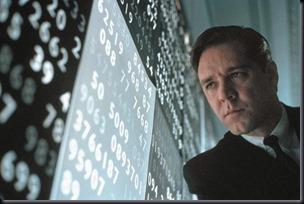 """Russel Crowe como John Nash no filme """"Uma Mente Brilhante"""""""