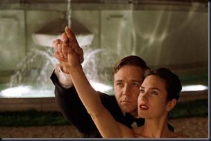 """Russel Crowe e Jennifer Connely em """"Uma Mente Brilhante"""""""