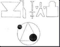 Símbolos que Penniston notou no objeto pousado (Foto via NickPope.net)