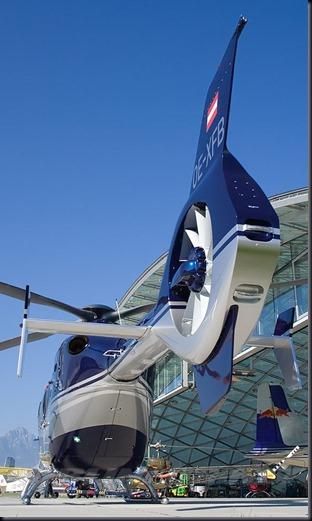 Rotor Fenestron de aeronave Eurocopter