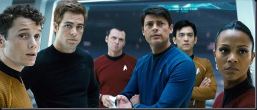 Tripulação da Enterprise (Foto: divulgação)