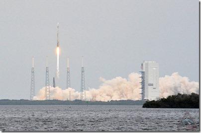 Atlas V decola de Cabo Canaveral com a sonda MAVEN (Foto: Robert Z. Pearlman / Space.com)