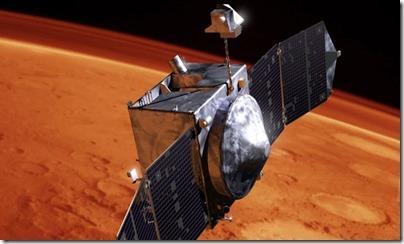 Ilustração da MAVEN (Foto: Lockheed Martin)