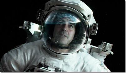George Clooney em Gravidade