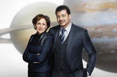 Ann Druyan e Neil Tyson