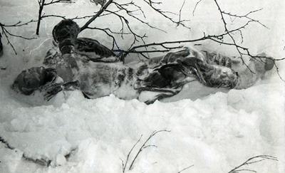 O cadáver de Igor Dyatlov