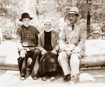 Zolotarev e seus pais