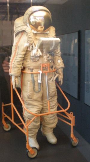 Crechet-94 em exibição no Air and Space Smithsonian Musuem, em Washington, EUA