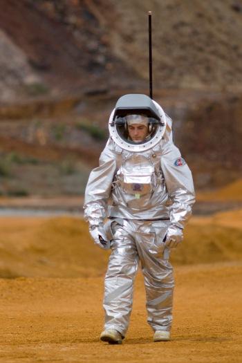 AOUDA.X testes e pesquisas no Rio Tinto, na Espanha; solo é pesquisado por similaridades com Marte (Foto: ESA)