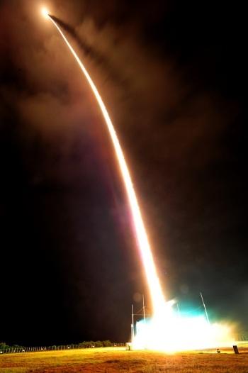 VS-30 39 segundos após o lançamento