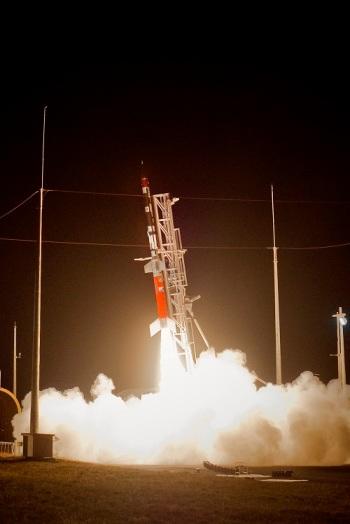 Lançamento do VS-30, primeiro foguete movido a etanol, em Alcântara, MA, 01/09/2014