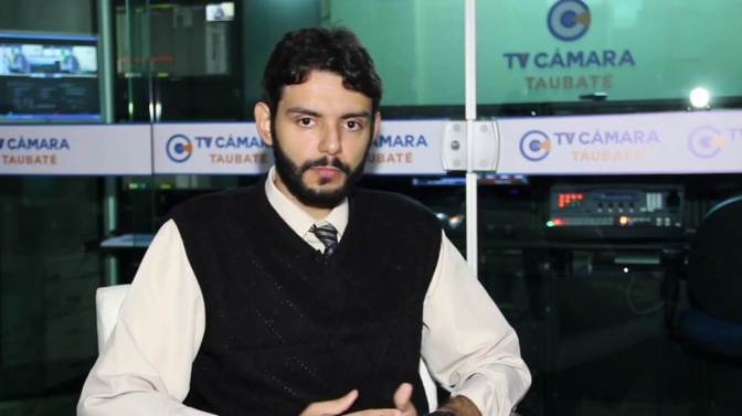 Vc Entrevista (TV Câmara Taubaté): Eduardo Oliveira