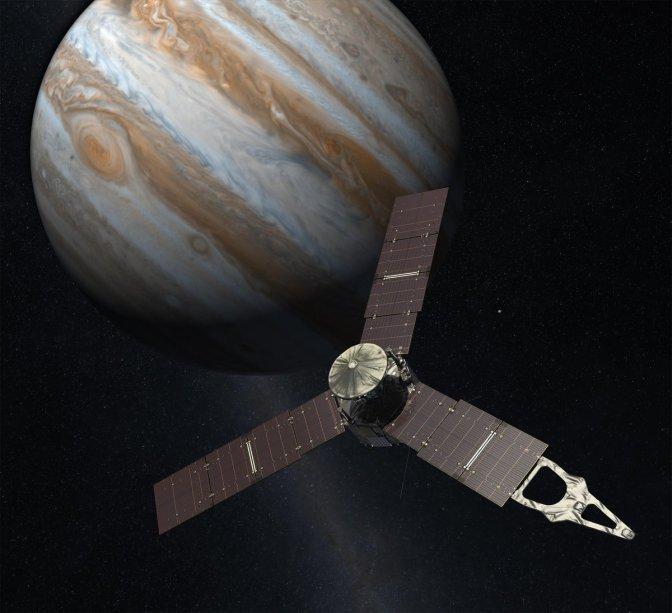 Juno: equipe começa a ligar instrumentos científicos