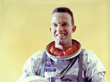 Gordon Cooper, tripulante da Mercury IX (Foto: NASA)